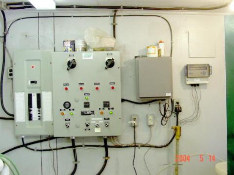 Old Main Pump Station Controls